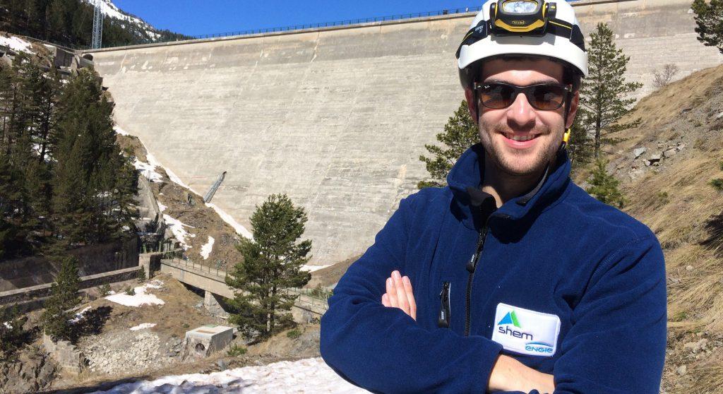 Barrage hydro éléctrique